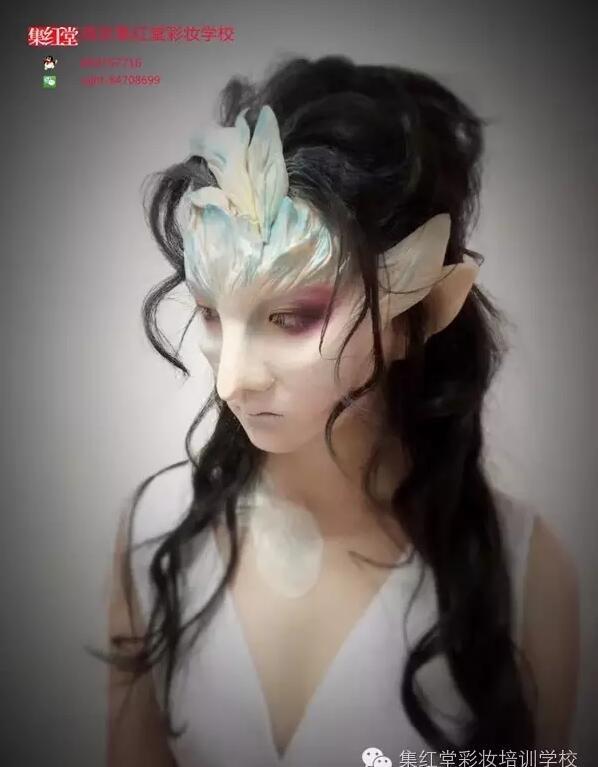 龙女特效化妆