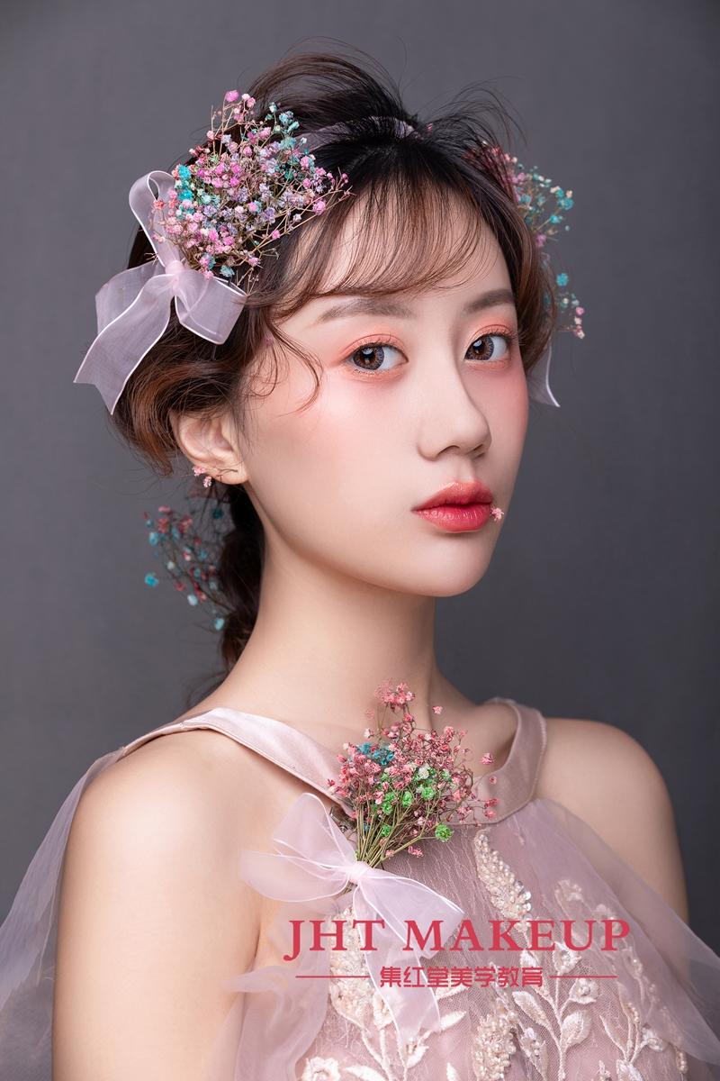 仙仙的新娘造型