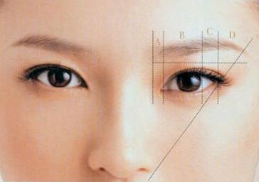 新手眉毛的画法 教你如何画出黄金比例完美眉形