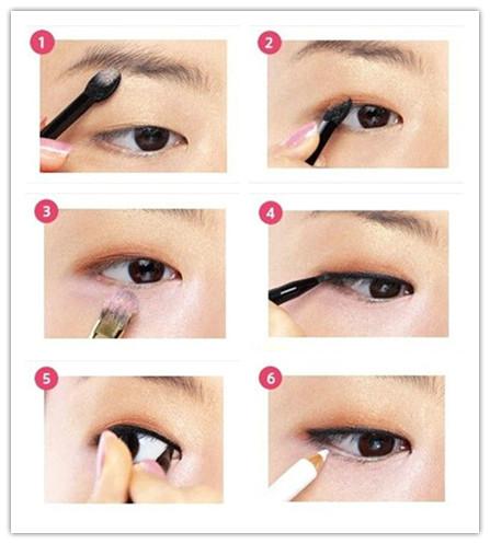单眼皮如何化出大眼妆